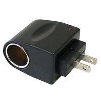 Car Cigarette Lighter Socket  AC to12V DC 90V-240V EU US Converter Adapter