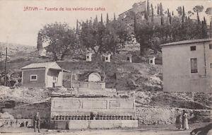 SPAIN - Jativa - Fuente de los veinticinco canos
