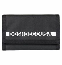 DC SHOES RIPSTOP 2 MENS TRI-FOLD WALLET BLACK EDYAA03112 KVJ0