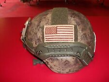 CUSTOMIZED MICH ACH ADVANCED COMBAT HELMET SOHAH OPS CORE MSA BAE GENTEX  MEDIUM