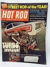 Vtg HOT ROD MAGAZINE 1971 October challenger cuda alpina street drag racing