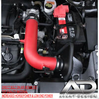 BLUE FORD EDGE 3.5 3.5L LIMITED SE SEL V6 AIR INTAKE KIT SYSTEMS RED FILTER
