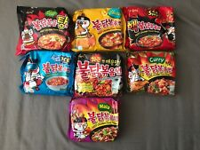 3 Pack Various Samyang Korean Fire Noodle Hot Chicken Flavor Ramen 2x Spicy Mala