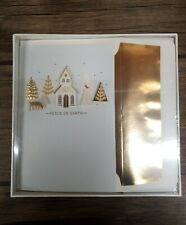 """Hallmark """"Peace on Earth Christmas Holiday Greeting Cards 12 Cards, Envelopes"""