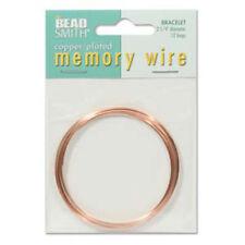 Memory Wire Bracelet 2.25 Cpr Plt 12 Turns