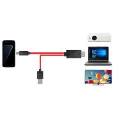 Picante MHL MICRO USB a HDMI Adaptador de cable universal para Samsung Galaxy