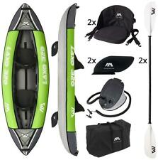 "AQUA MARINA Laxo 10.6 "" 2er Kayak Canot Ensemble Avec Pagaie Pompe Kayak Tours"