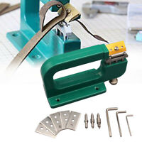 DIY Home Leather Splitter Machine Cutter Edge Skiver Paring Leather Tools