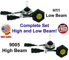 High & Low Beam All In One Xenon HID Kit Combo Bolt On Integrated Ballast H11