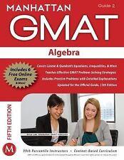 Algebra GMAT Strategy Guide