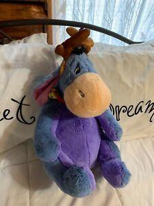 "Disney Winnie the Pooh EEYORE Stuffed Animal 26"" tall NEW"