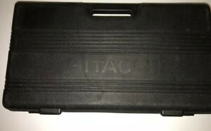 Hitachi Empty Plastic Carrying Case