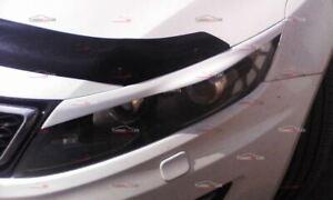 Eyebrows Eyelid Cover for lights for the Kia Optima TF 2010-