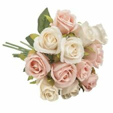 Head Silk Rose Artifical Flowers Floral Bridal Wedding Bouquet Home Party Decor