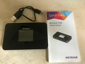 NETGEAR AirCard 785 4G LTE Mobile Hotspot (Unlocked) (AC785-100EUS)
