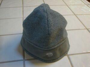 Mountain Hardware POLARTEC Beanie Gray Cap Tweed Hat