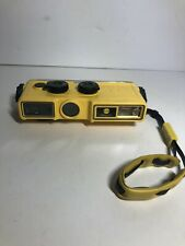 Vintage Konica Minolta Weathermatic A Underwater 110 Film Camera w/ Strap, Flash