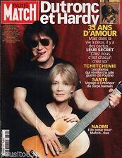 Couverture magazine Coverage Paris Match Jacques Dutronc Françoise Hardy