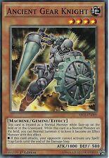 YU-GI-OH CARD: ANCIENT GEAR KNIGHT - SR03-EN009 - 1ST EDITION
