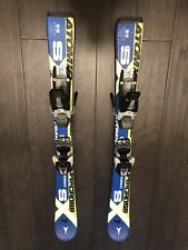 Atomic Supercross SX 7 Kids Flat Skis with Bindings - 90 cm Used