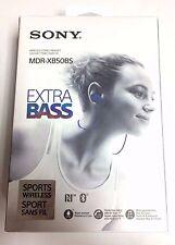 Sony Genuine - XB50BS Extra Bass Sports Wireless In-Ear Headphones - Blue - USA