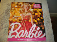 The Barbie Collector Collection Catalog HOLIDAY 2014 Holiday Barbie price guide