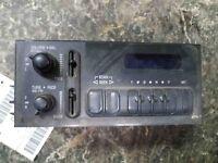 Audio & Visual Equip.(radio) CHEVY EXPRESS 1500 95 96 97 98 99 00 01 02 03 04 05