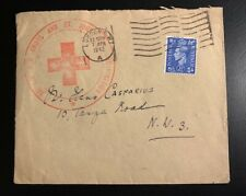 Wwii 1942 British Red Cross Cover 1
