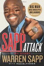 Warren  SAPP ATTACK  - TAMPA BAY BUCCANEERS -   NFL BOOK Super Bowl XXXVII 37