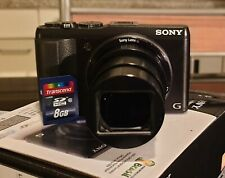 Sony Cyber-shot DSC-HX50 20.4 MP Digitalkamera - Schwarz, gebraucht