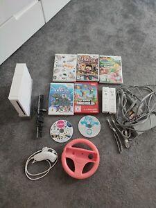 Nintendo Wii + Zubehörpaket + 7 Spiele