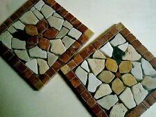 NUOVI Rosone Mosaico Inserti FIORE Marmo Pavimento Parete Tanti Modelli NEGOZIO