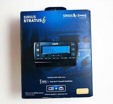 Sirius XM Stratus 6 SDSV6V1 Satellite Radio Receiver w/ Vehicle Kit New Open Box