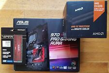 Asus 970 Gaming AURA Motherboard AMD FX-8370 8-Core 4.0GHz CPU + 16GB DDR3 NEW