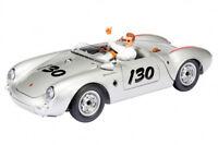"""#450033200 - Schuco Porsche 550 Spyder #130 """"James Dean"""" mit Figur - 1:18"""