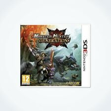 MONSTER HUNTER GENERATIONS sur Nintendo 3DS / Neuf / Sous Blister / Version FR