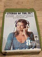 Stereo Of The 70's VA 8-Track Cartridge Vintage Rare Music Retro