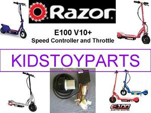 Razor Scooter E100 E125 E150 E175 E SPARK E2TRIKKE CONTROLLER Kit ESC & THROTTLE