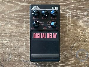 Aria DDX-10, Digital Delay, Super Dual Stage series, Made In Japan, 1983-85