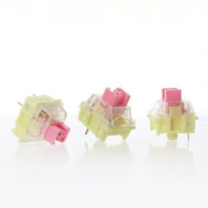 TTC 3 pin 37g Gold pink Waterproof Dustproof Cover SMD Switches For MX Keyboard