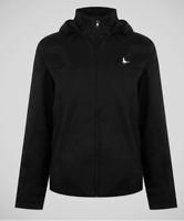 Jack Wills Blackett Heathered Jacket Hooded Black Mens SIze UK L *REF14
