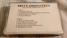 Rare Promo Cassette Bruce Springsteen All Those Years 1971 - 1973