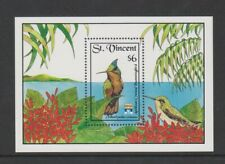 St Vincent - 1992, Genova '92 Exh. Hummingbirds sheet - MNH - SG MS1592b