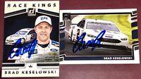 Brad Keselowski #2 NASCAR Xfinity racing race car driver auto autograph card LOT
