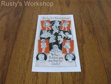 1928 Ideal TICKLETOES &FLOSSIE FLIRT & CUDDLES & SMILES Brochure (Reproduction)
