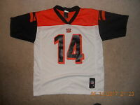 f0c44f82 NWOT NIKE ON FIELD CINCINNATI BENGALS #14 ANDY DALTON YOUTH LARGE ...