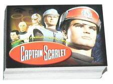 Thunderbirds Captain Scarlet by Cards Inc in 2001 Complete 72 card base set.