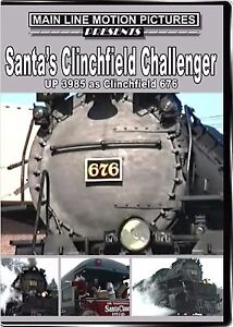 SANTA'S CLINCHFIELD CHALLENGER UP 3985 MAIN LINE MOTION PICTURES NEW DVD VIDEO