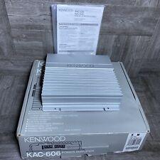 Kenwood KAC-606 2-Channel Car Audio Power Amplifier