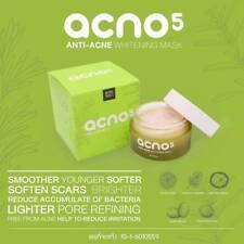 Acno5 Anti Acne Whitening Mask Restore Deteriorated Skin Reduce Acne A+ 30ml